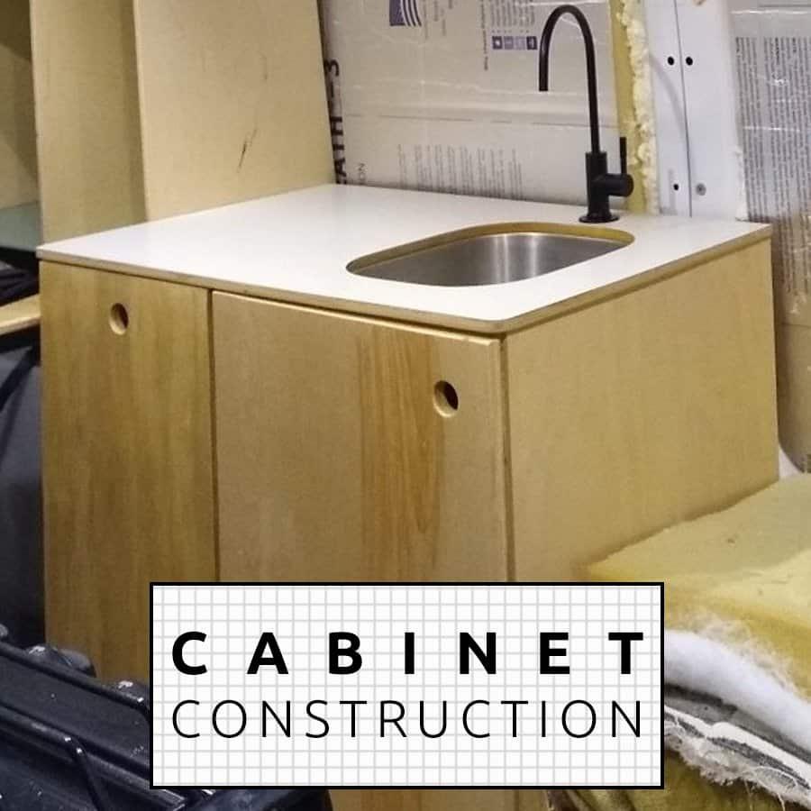 Cabinet-Install-van