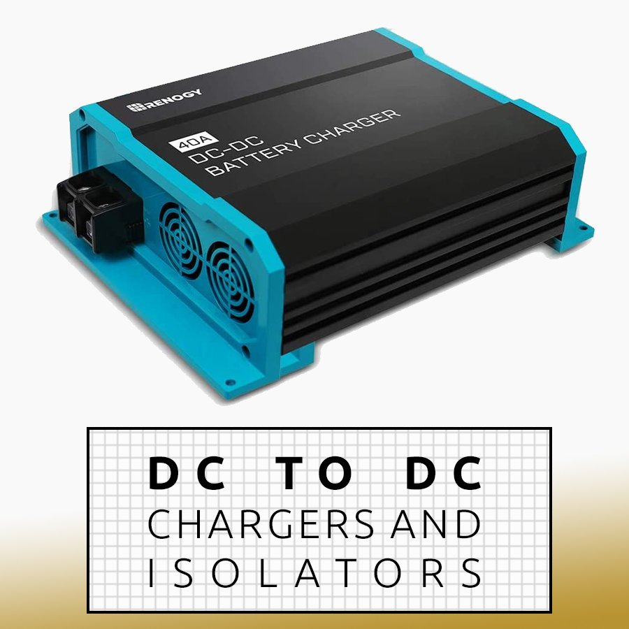 charger dc to dc battery to battery isolator van