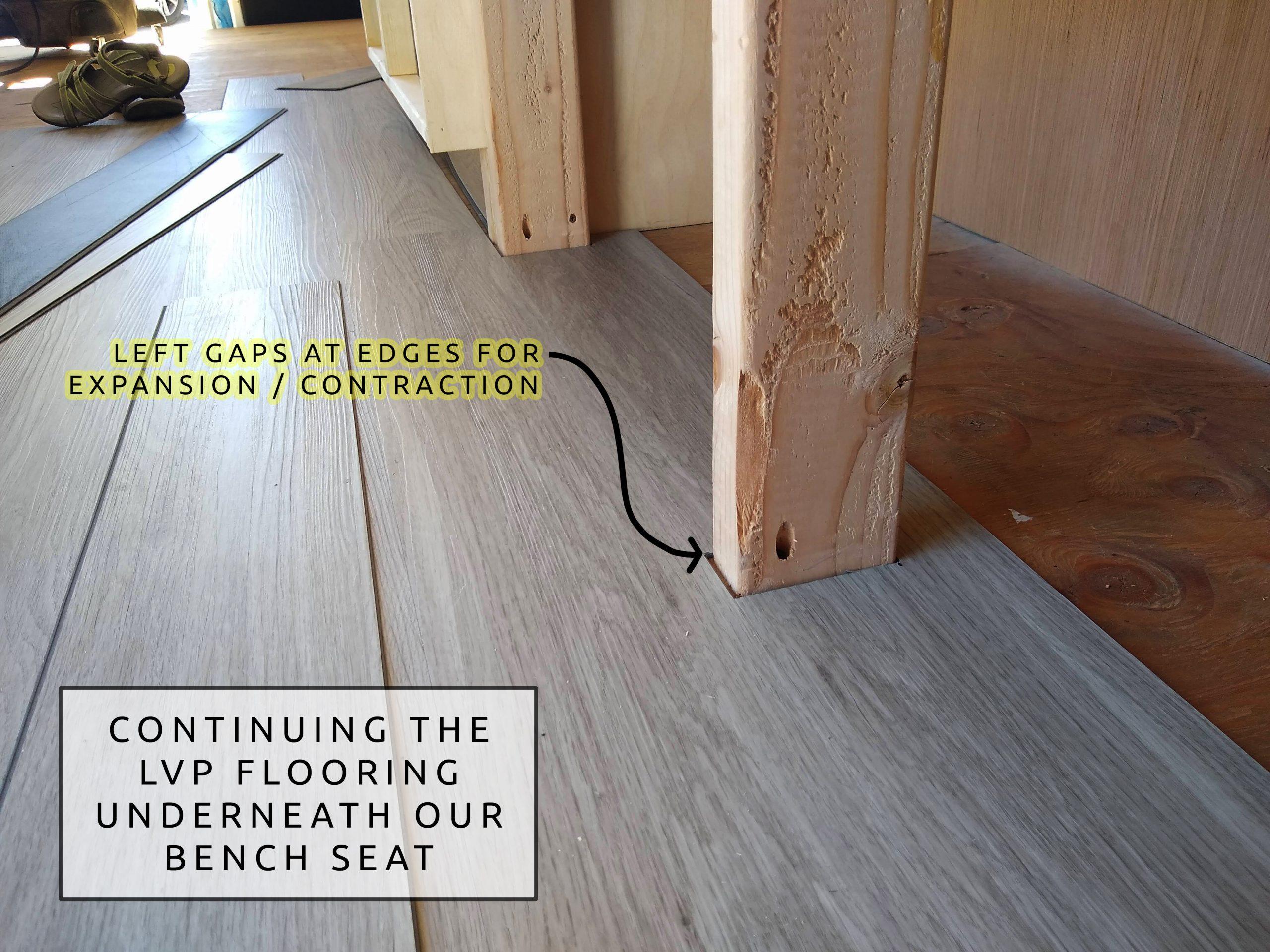 How To Install Vinyl Flooring In A Camper Van Vanconverts Com
