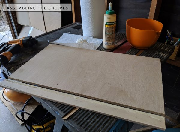 DIY Camper Van Conversion Open Cubby Wall Storage Shelves Shelving 8