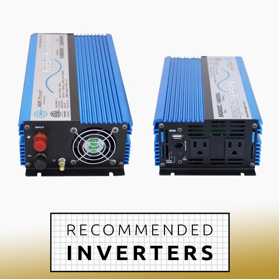 Recommended-Inverters-camper-van-rv