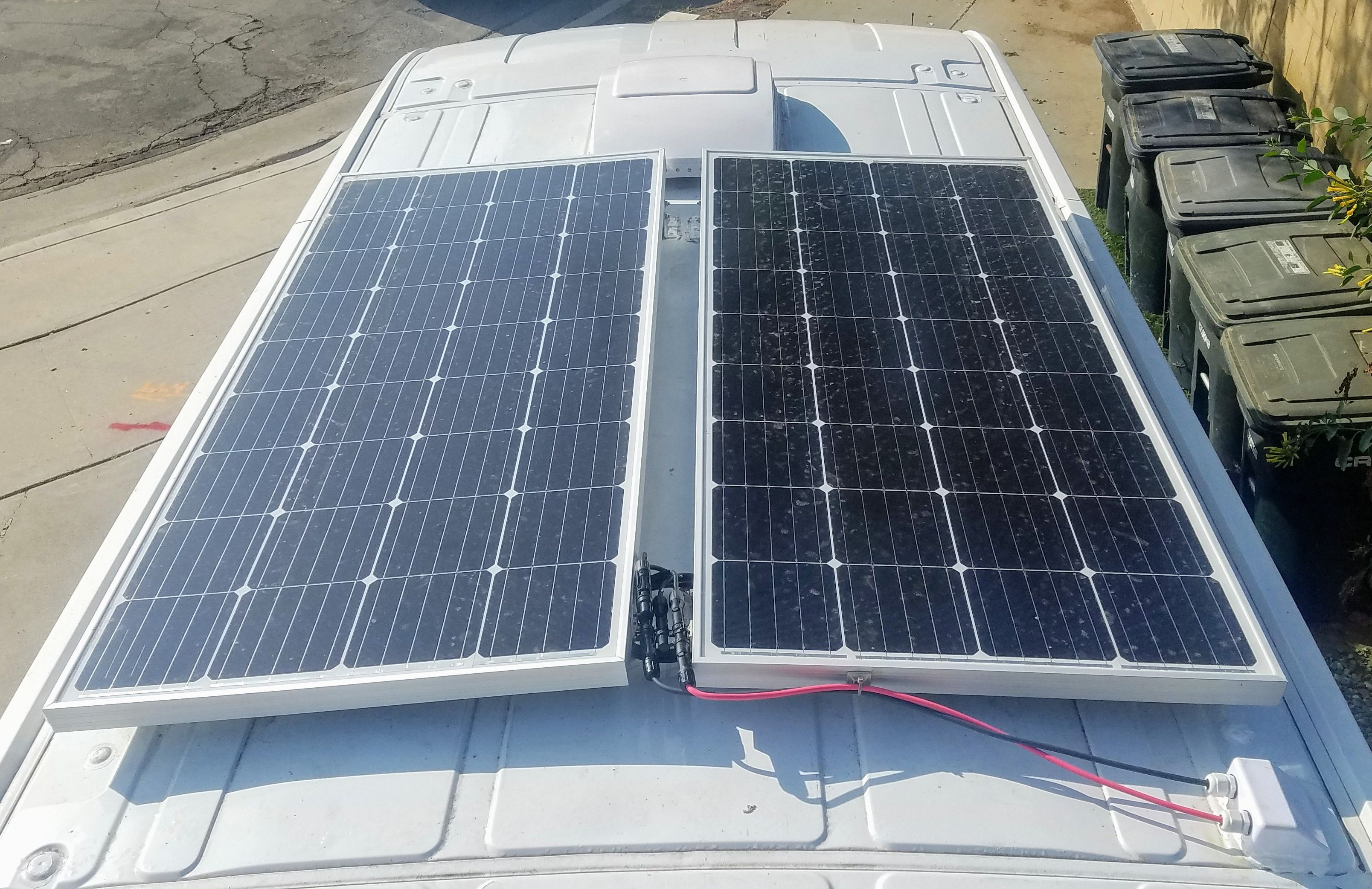 Mounting Affordable Solar Panels On The Camper Van