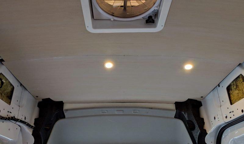 van-ceiling-front-panel