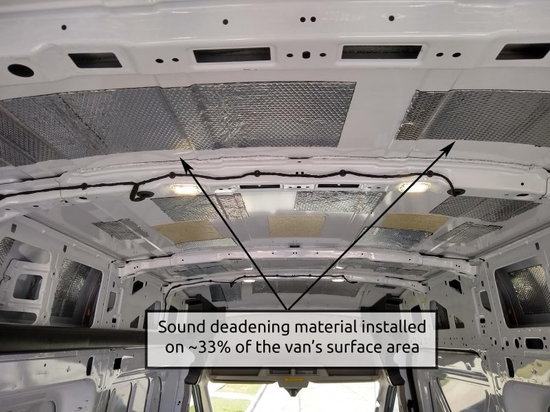 van-conversion-sound-deadening-installation